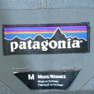 パタゴニア ガイドジャケットのタグ
