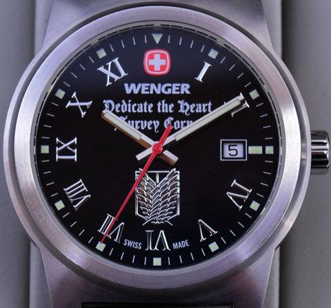 ウエンガー進撃時計1