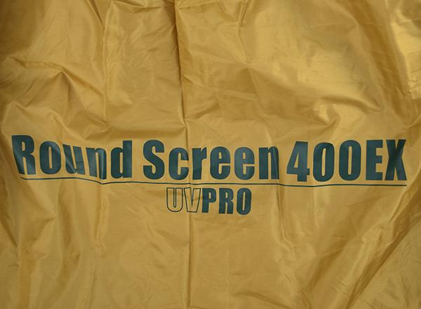 ラウンドスクリーン 400EXロゴ